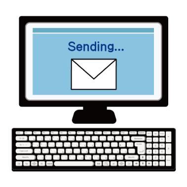 メール送信の画像